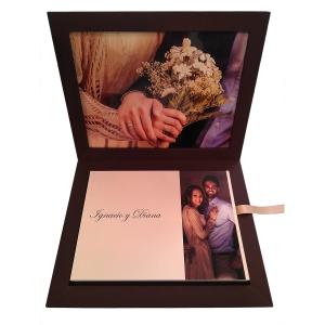 Album Baby Book, ceremonia civil. Con foto decorativa en la tapa (N+D)