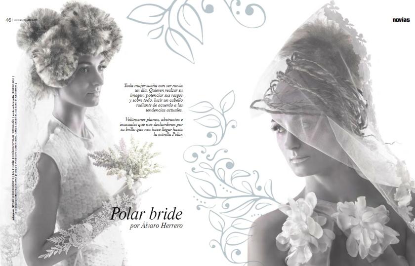 Polar Bride publicado en el especial novias de la revista C&C Magazine